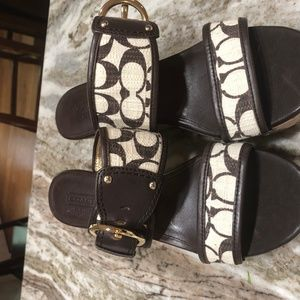 Coach Wedges Sandal